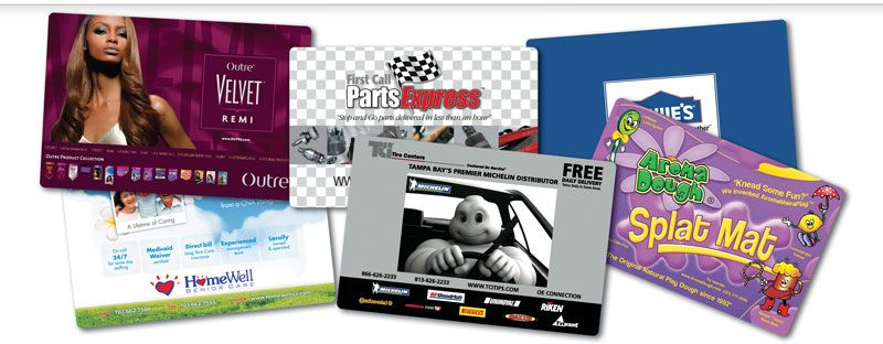 Counter Top Advertising Mats